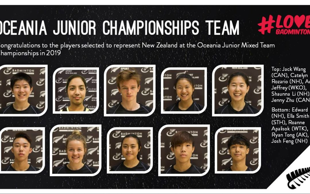 NZ Juniors 2019 – 2 Canterbury Players